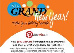 Grand Pinterest contest