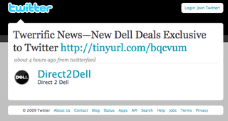 Dell exclusive deal for twitter followers.jpg