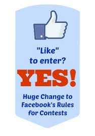 Facebook like to enter