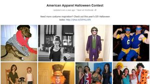 American Apparel Halloween Contest