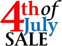 4th of July Sale Graphic