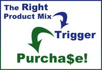 Product mix triggers purchase