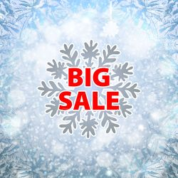 Snow sale
