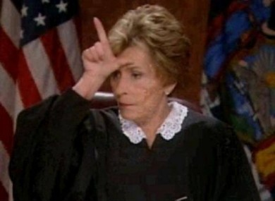 Buying judge Judy is a loser