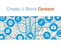 Create and share content