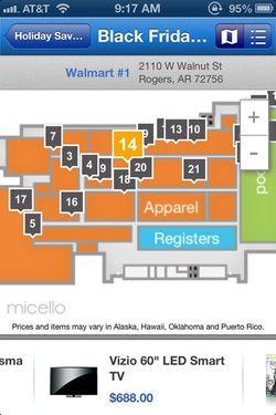Walmart in store app