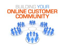 Building online customer community