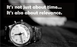 Real time and relevance