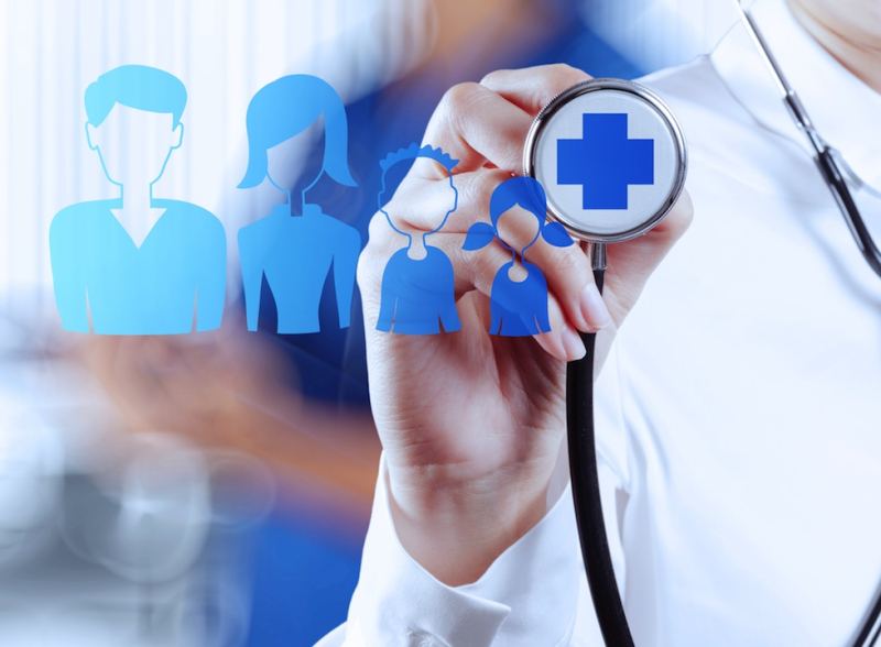 Healthcare regional marketing targeting
