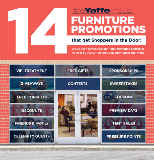 14 Furniture Promotions that bring customers in